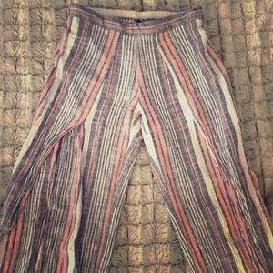 Beach pants by Drew. XS.  Linen and Rayon.